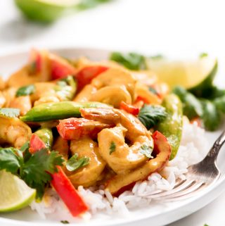 Thai Coconut Curry Shrimp