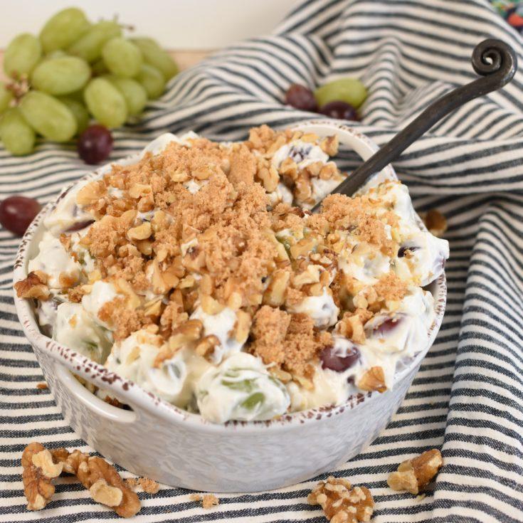 Grape Salad (with Greek Yogurt) | Little Dairy On the Prairie