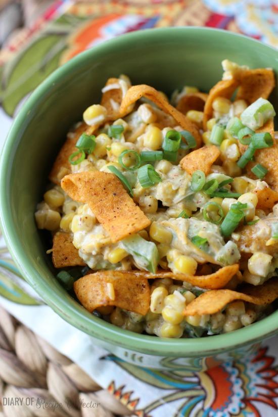 Frito Corn Salad - Diary of A Recipe Collector