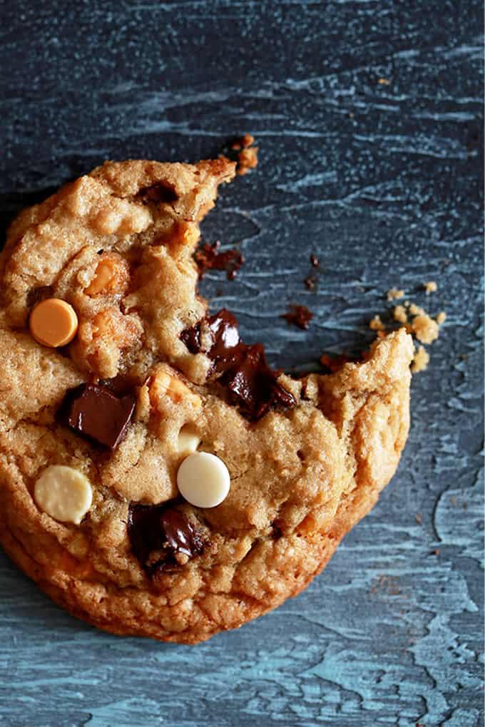 Triple Chip Cookies | DESSERT