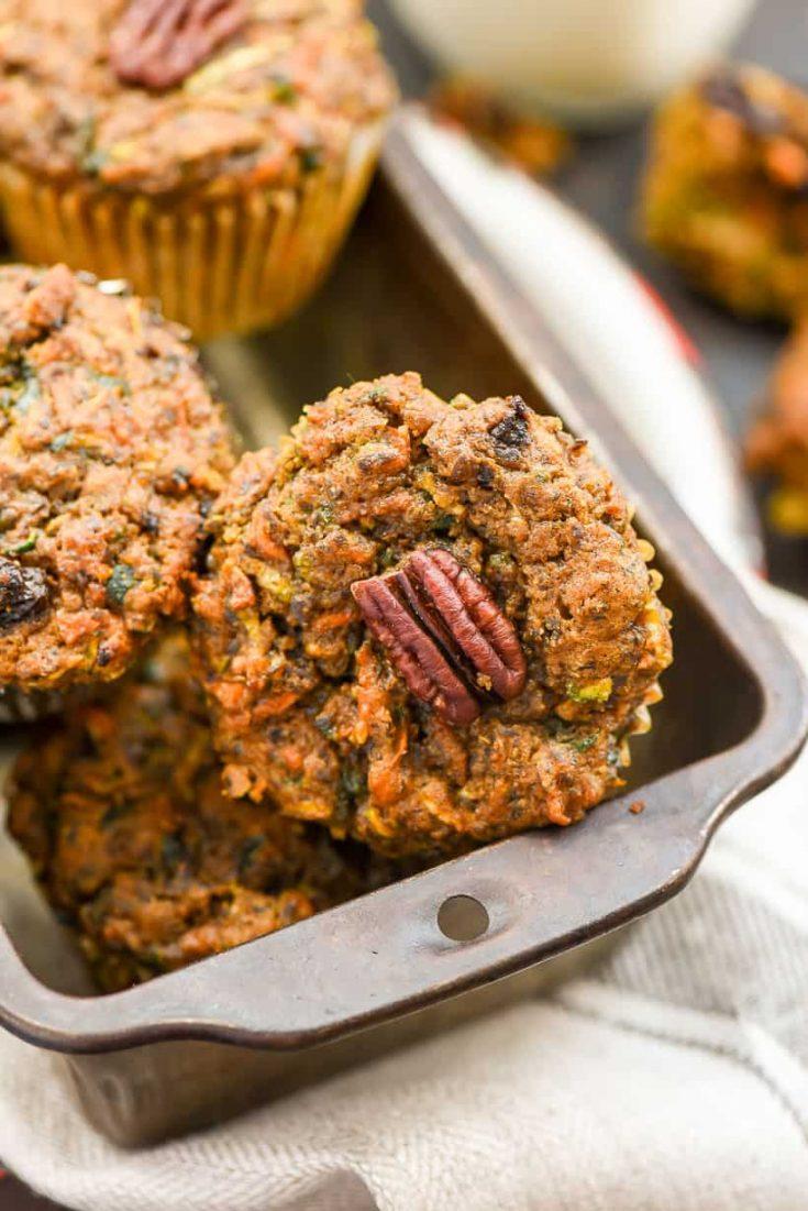 BREAKFAST | Carrot Zucchini Muffins