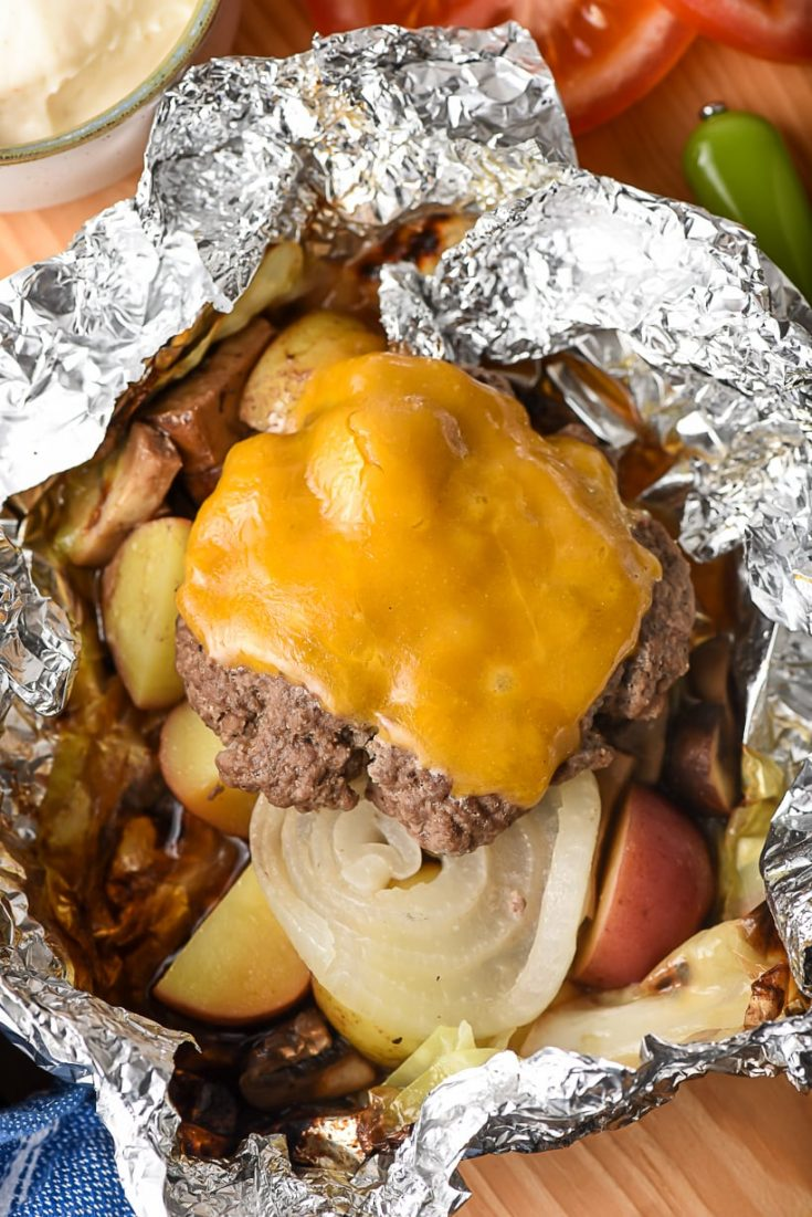 Hobo Dinner Hamburger Foil Packets | TUESDAY