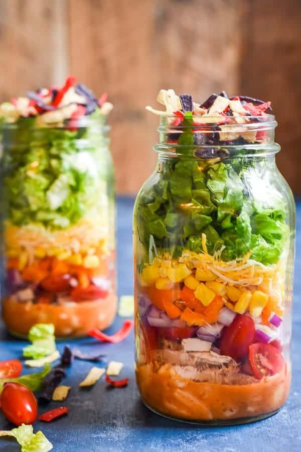 TUESDAY | Mason Jar Taco Salads