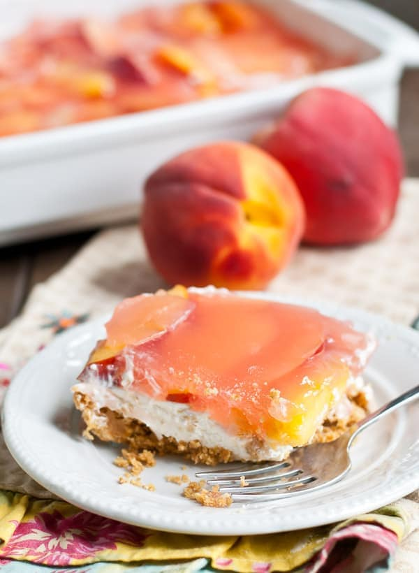 No Bake Peach Delight | DESSERT