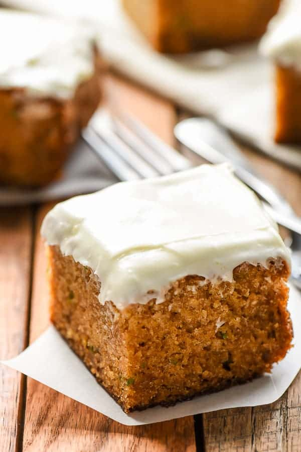 Zucchini Cake with Cream Cheese Frosting | Dessert