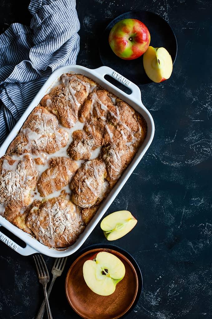 Caramel Apple Cheesecake Coffee Cake
