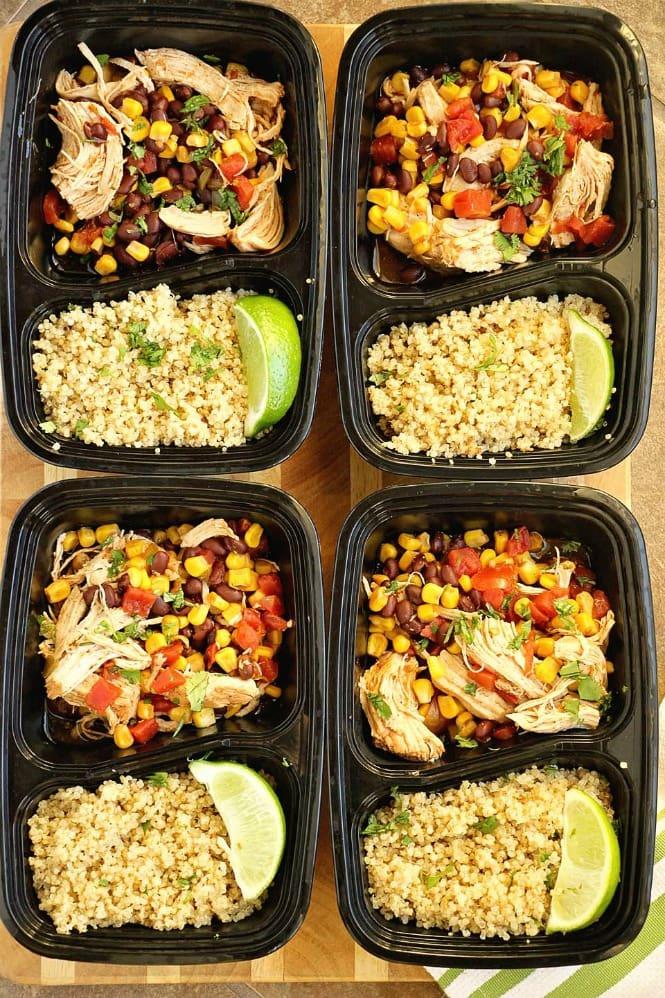 TUESDAY | Instant Pot Santa Fe Chicken over Quinoa