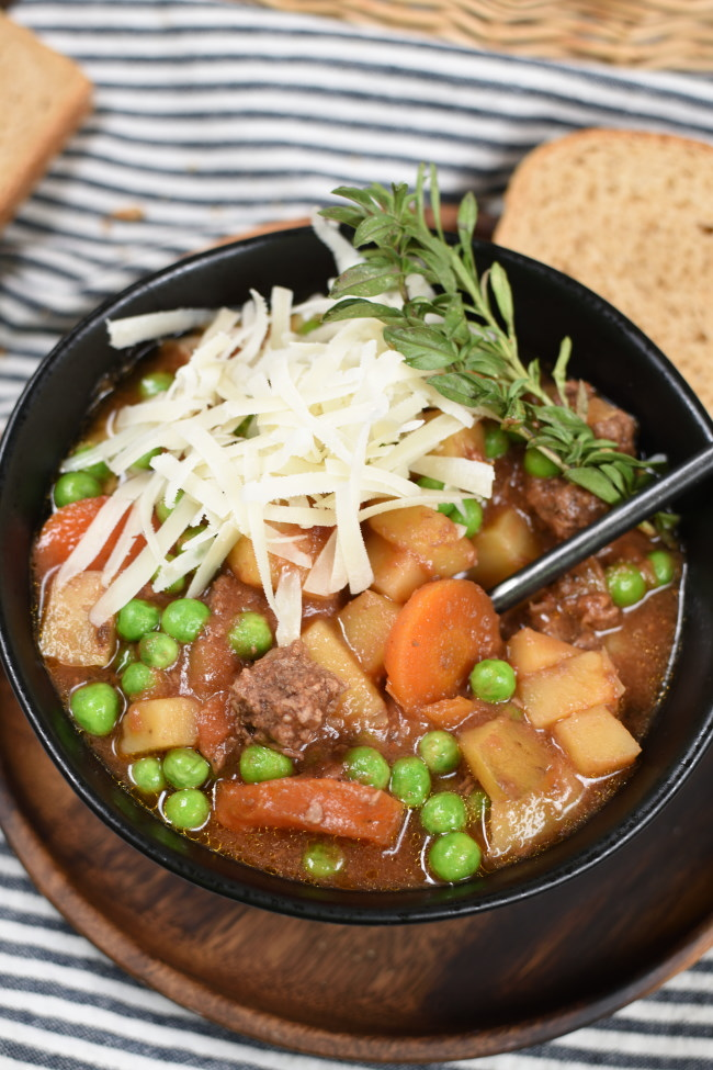 Slow Cooker Beef Stew | Little Dairy On the Prairie