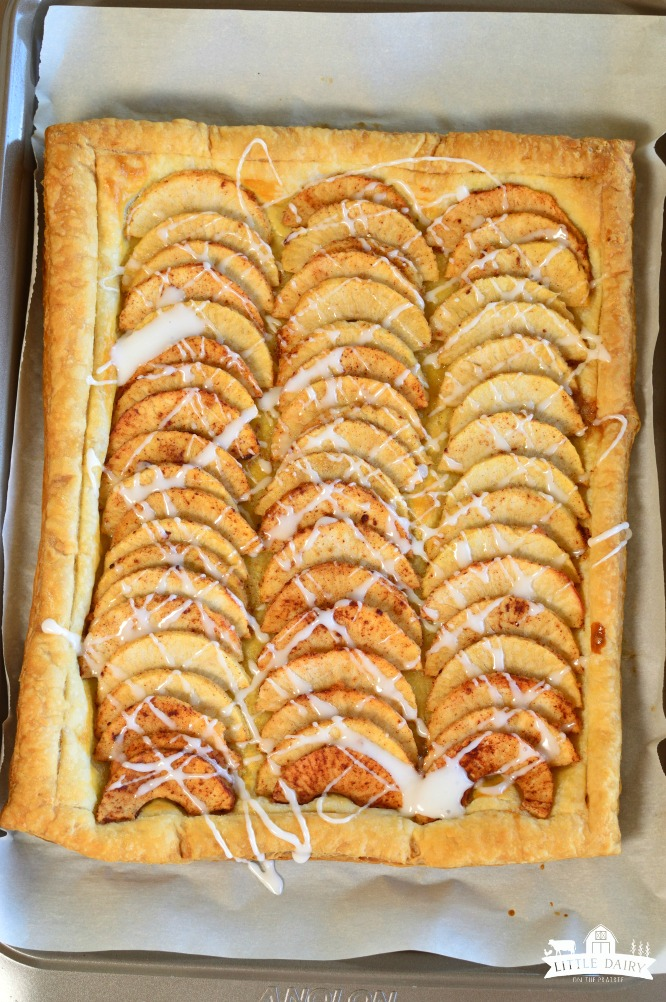 DESSERT | Simple Puff Pastry Apple Tart