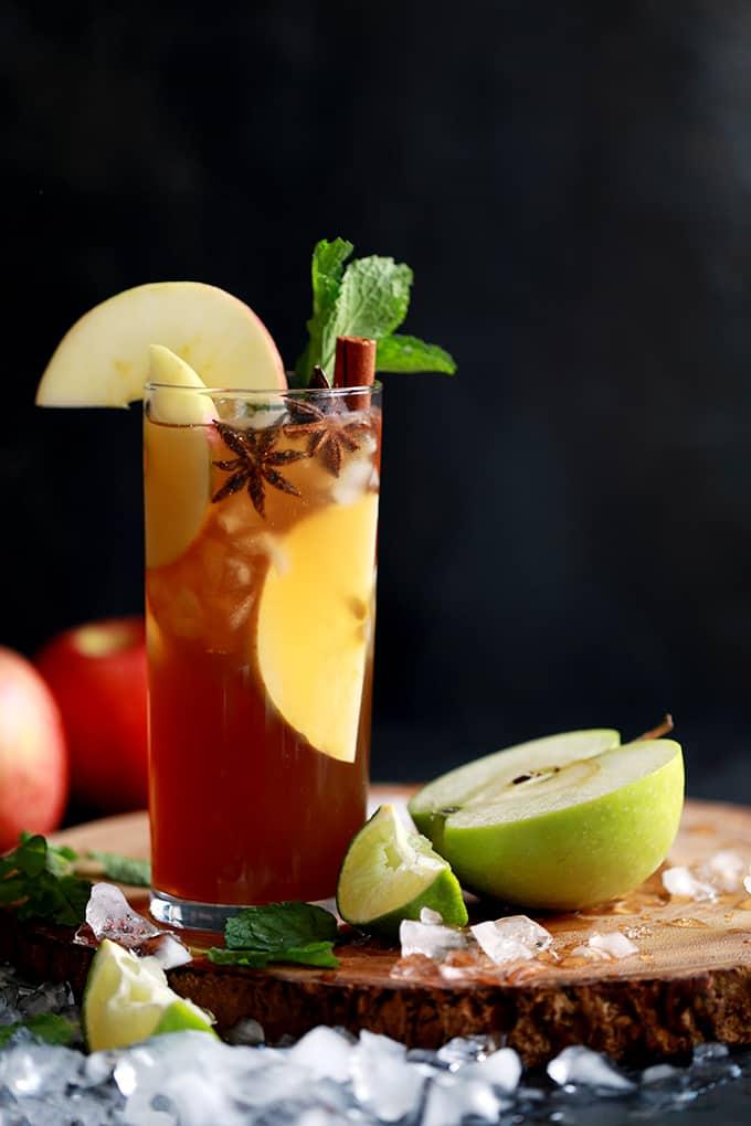 DRINK | Apple Cider Mojito