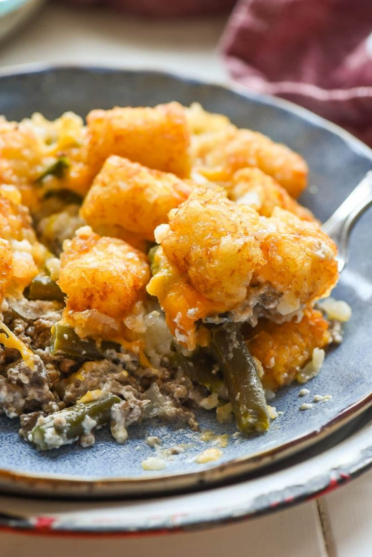 FRIDAY | Green Bean Tater Tot Casserole