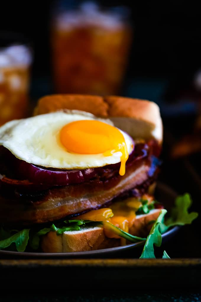 THURSDAY | Grilled Barbecue Bacon Meatloaf Sandwich