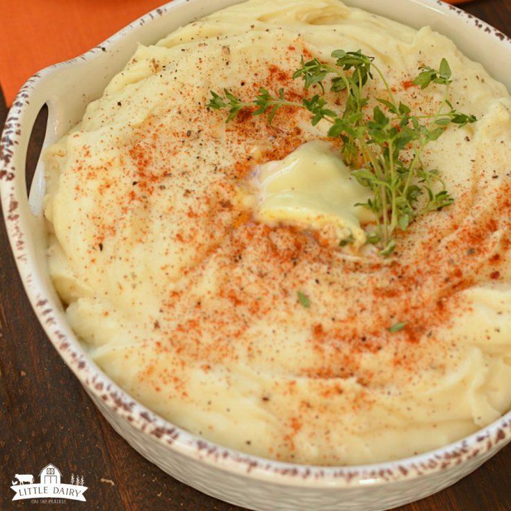Three Cheese Mashed Potatoes