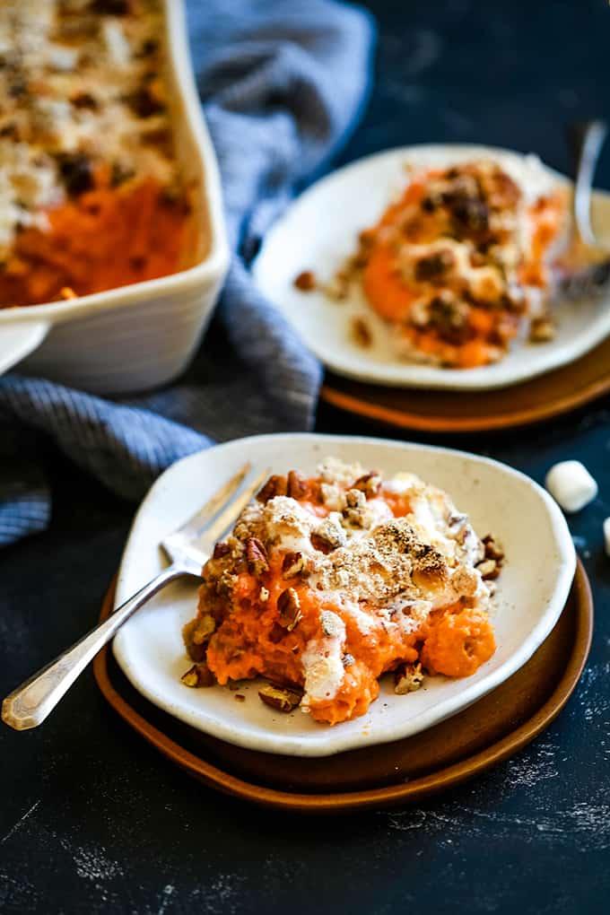 Make Ahead Sweet Potato Casserole