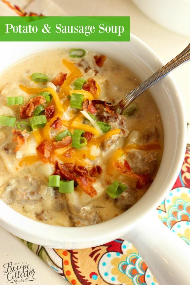 THURSDAY | Potato & Sausage Soup