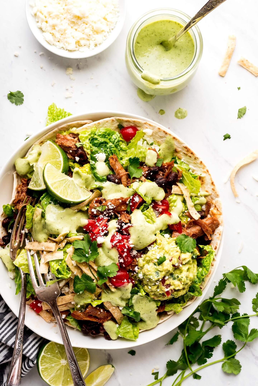 Cafe Rio Sweet Pork Salad Garnish Glaze